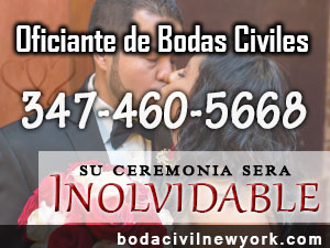 Oficiantes de Bodas Civiles New York