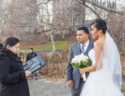 Oficiante de Matrimonios Alexandra Paez – Central Park, Bronx, Queens, Manhattan