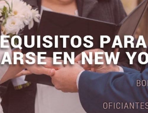 Que se Necesita para Casarse por lo Civil en New York City?